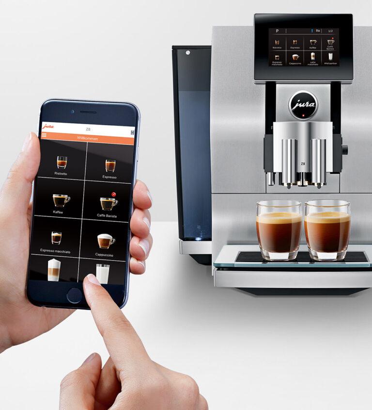 تصویر شماره 1 کنترل قهوه ساز با موبایل در خانه های هوشمند