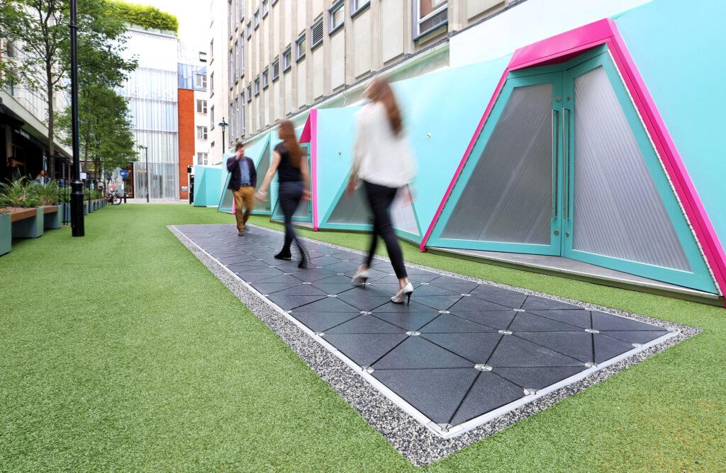 تصویر شماره 3 تکنولوژی استفاده از انرژی جنبشی قدم ها