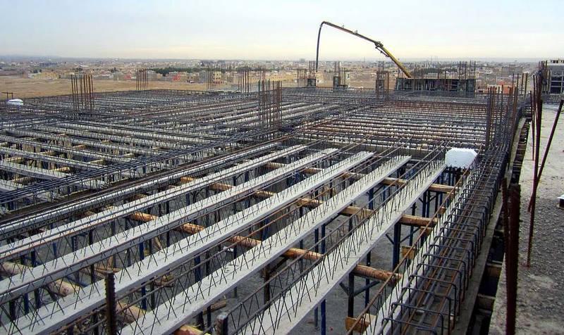 تصویر شماره 1 سقف تیرچه بلوک و اجزای آن